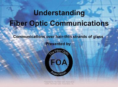Information For Teachers From The Fiber Optic Association