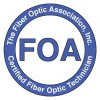 Image result for fiber optic association certified fiber optic technician