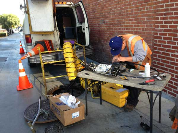 FiOS SPlicing in Santa Monica