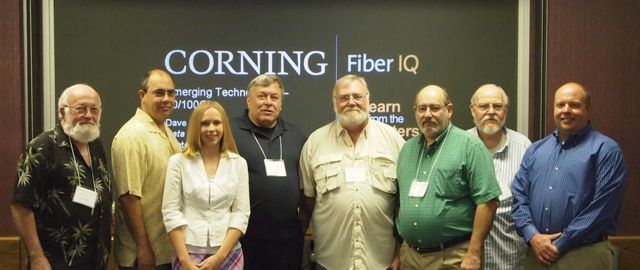 Corning Hosts Fiber Optic instructors