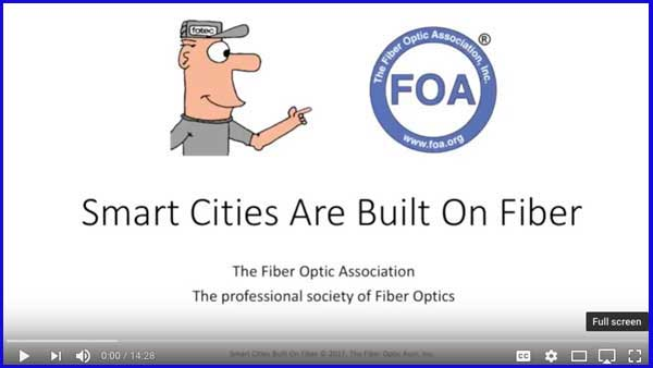 Smart Cities Are Built On Fiber