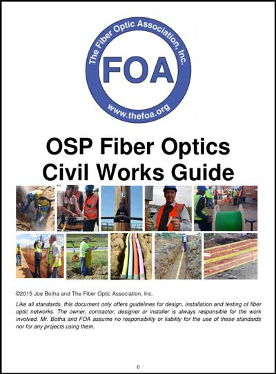 OSP Fiber Optics Civil Works Guide