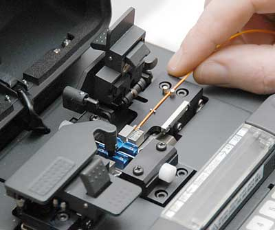 Image result for fiber optic fusion splicing""